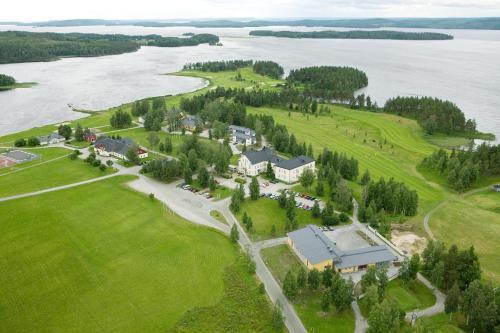 Majoituspaikan Hyvärilä Holiday Apartments kuva ylhäältä päin