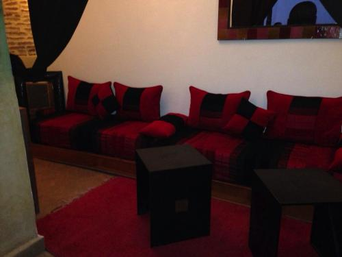 Zona de estar de Riad Prada