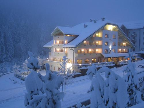 Hotel Erica зимой