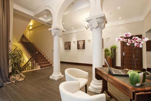 The lobby or reception area at Villa Orsula