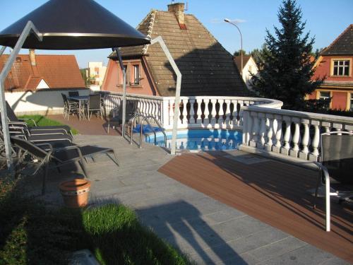 The swimming pool at or near Apartment Sejko