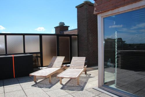 Balcon ou terrasse dans l'établissement Duplex Penthouse Plaza