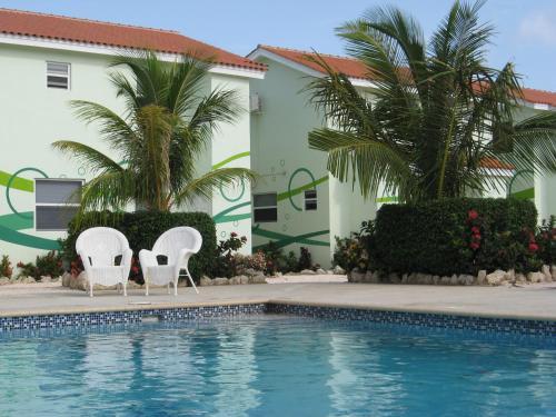 A piscina localizada em Apartment Genieten op Curacao ou nos arredores