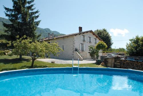 The swimming pool at or near L'Estapade des Tourelons