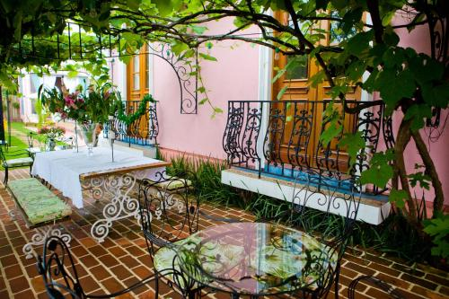 A restaurant or other place to eat at Hotel Boutique Quinta das Videiras