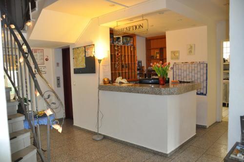 Lobby/Rezeption in der Unterkunft Hotel Hornung
