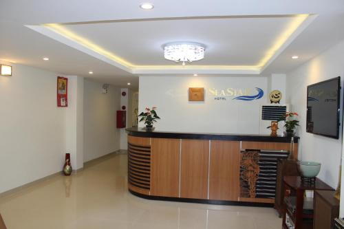 Khu vực sảnh/lễ tân tại Seastar Hotel Danang