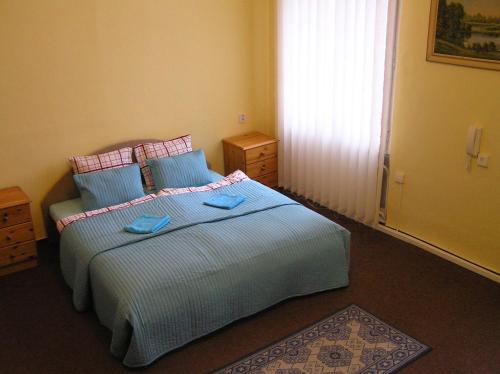 A bed or beds in a room at Hostel Moravia Ostrava