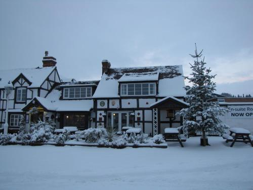 Rose & Crown during the winter