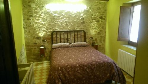 Cama o camas de una habitación en Cal Magret