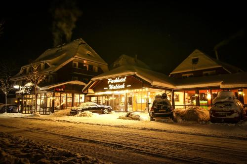 Parkhotel Waldeck Titisee during the winter