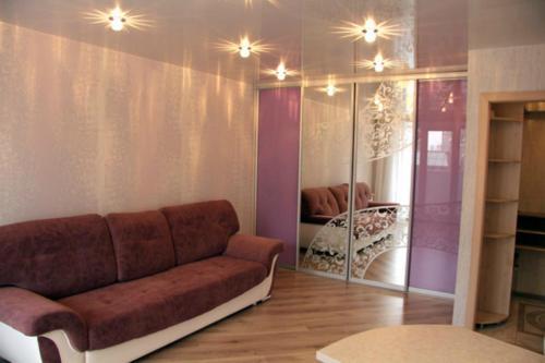 A seating area at Buro Skazka Apartments