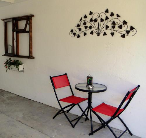 A seating area at Our Nest Guest House