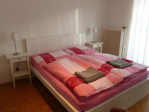 Postel nebo postele na pokoji v ubytování Apartment24-Schoenbrunn