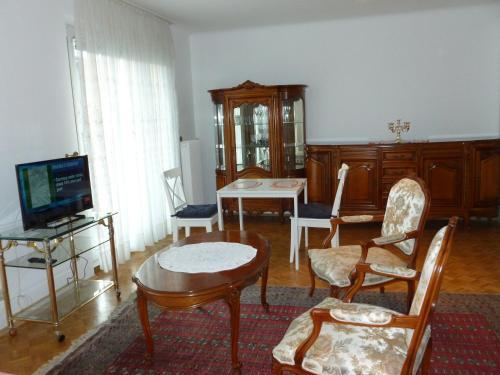 Posezení v ubytování Apartment24-Schoenbrunn