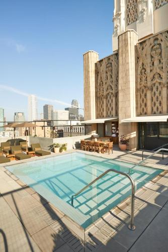 The swimming pool at or near Ace Hotel Downtown Los Angeles