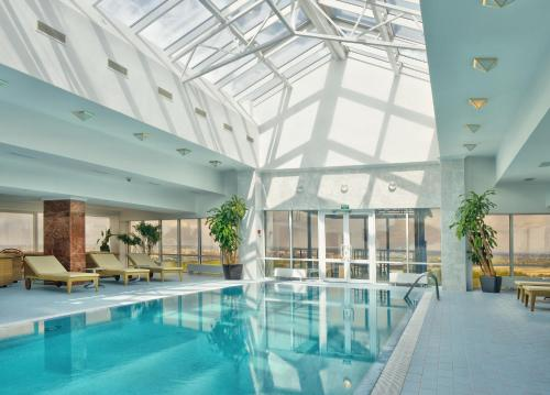 The swimming pool at or near Hotel Korston Royal Kazan
