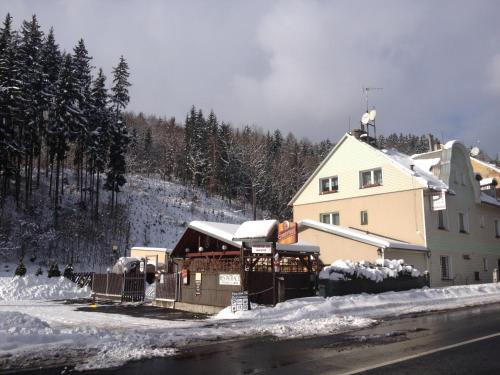 Penzion54 & Restaurace during the winter