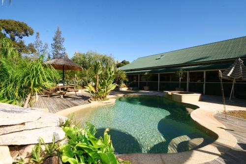 The swimming pool at or near Relaxin
