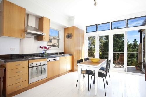A kitchen or kitchenette at Bondi Beach Breeze - A Bondi Beach Holiday Home