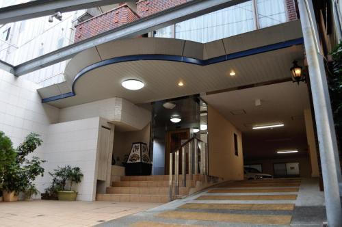 The facade or entrance of Kochi Sakura Hotel