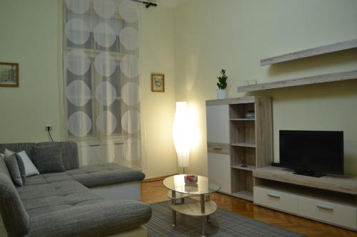 Гостиная зона в Apartment Zeleni Val