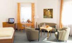 A seating area at Vital-Hotel Erika