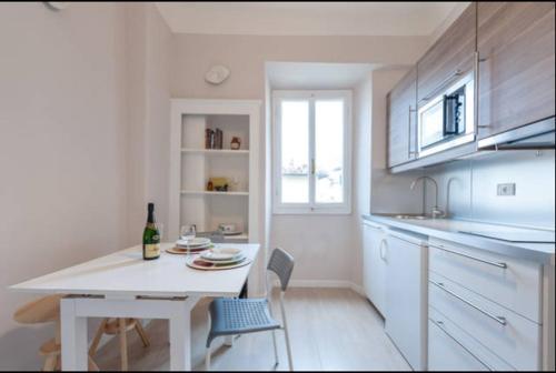 Una cocina o zona de cocina en Appartamento Toscanella