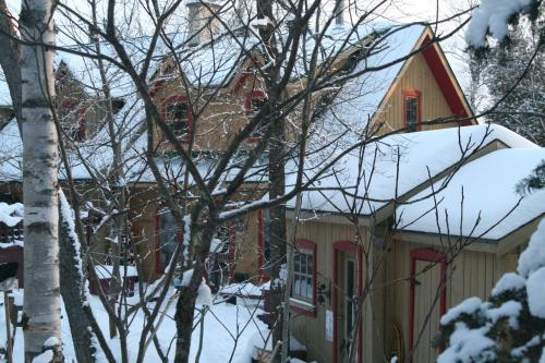 L'établissement Gite Nature et Confiture en hiver