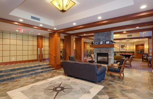 The lobby or reception area at Horstman House by Whistler Premier