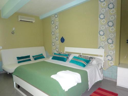 Cama o camas de una habitación en Villa Franca