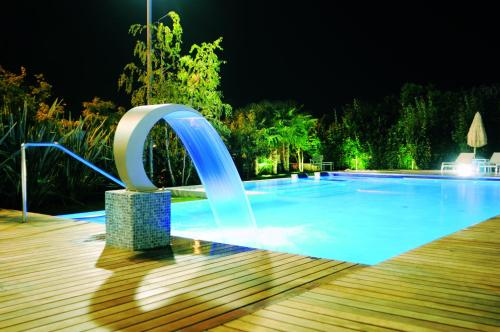The swimming pool at or close to Tobago Wellness Hotel
