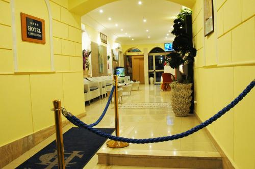 Hall ou réception de l'établissement Capodichino International Hotel