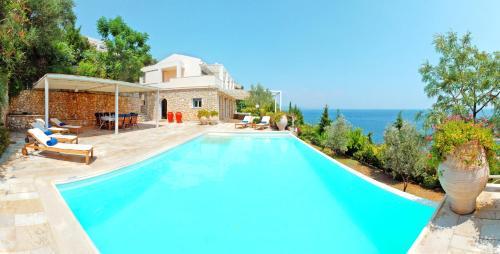 The swimming pool at or near Corfu Luxury Villas