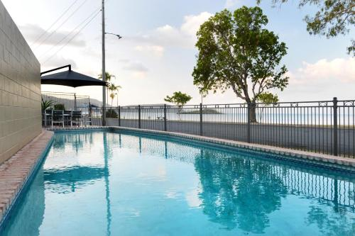 The swimming pool at or near Whitsunday Waterfront Apartments