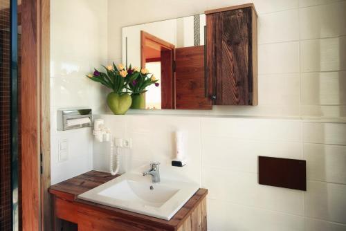 Ein Badezimmer in der Unterkunft Gasthaus Georg Ludwig Maising