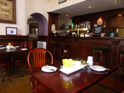 A restaurant or other place to eat at The Gandon Inn