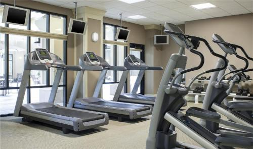 The fitness center and/or fitness facilities at Four Points by Sheraton Norwood Conference Center