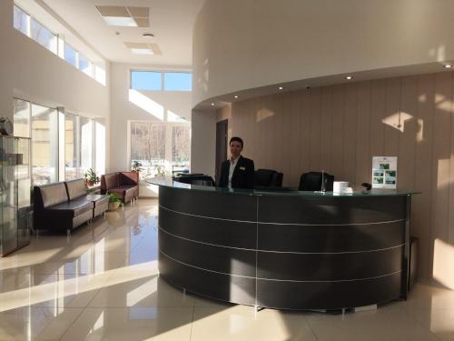 The lobby or reception area at Apart-Hotel Kurkino