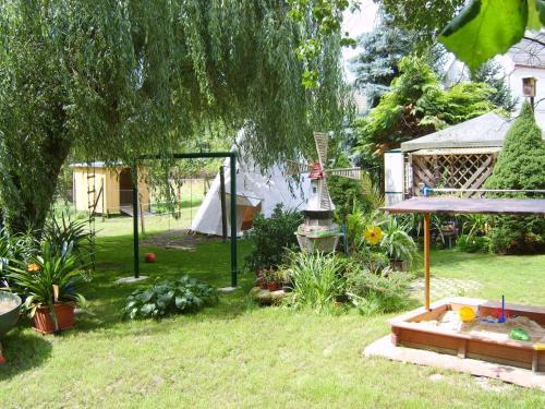 Children's play area at Landhotel Sperlingsberg