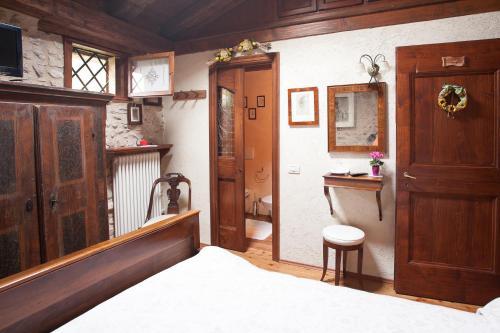 A bathroom at B&B Asolo Casapagnano