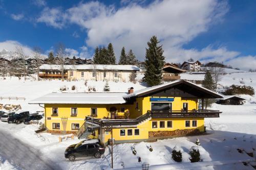 Haus Wasserbauer in de winter