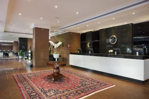 The lobby or reception area at Windsor Plaza Brasília