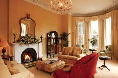 A seating area at Knockeven House