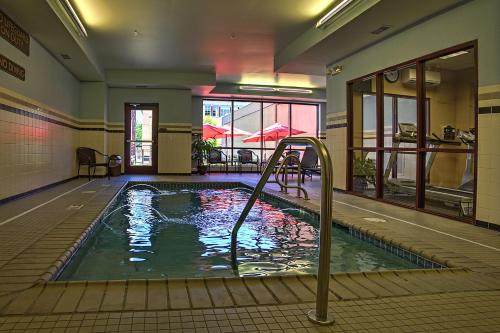 The swimming pool at or near The Hotel Warner