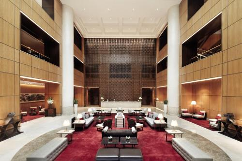 A restaurant or other place to eat at Singapore Marriott Tang Plaza Hotel (SG Clean)