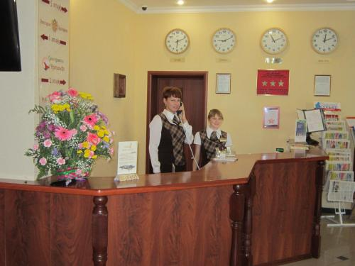 Лобби или стойка регистрации в Георгиевская