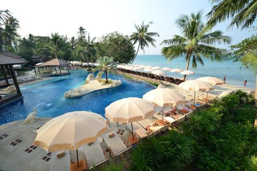 The swimming pool at or near Kacha Resort & Spa, Koh Chang