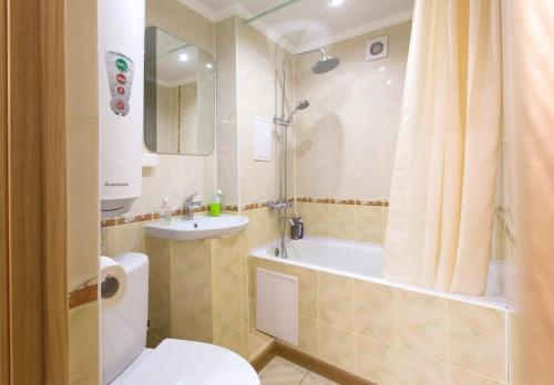 Ванная комната в Apart hotel 4 Rooms