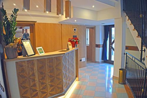 Hall o reception di Sempione Hotel Malpensa